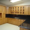 Modern Wooden Kitchen Cabinet Idea Image