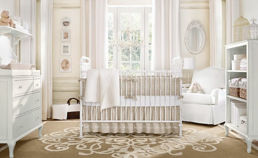 Neutral Color Idea For Baby's Bedroom