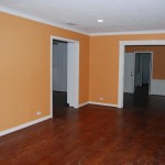 Orange Home Wall Paint Color Idea
