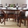 Oval Design For Wood Dining Room Table