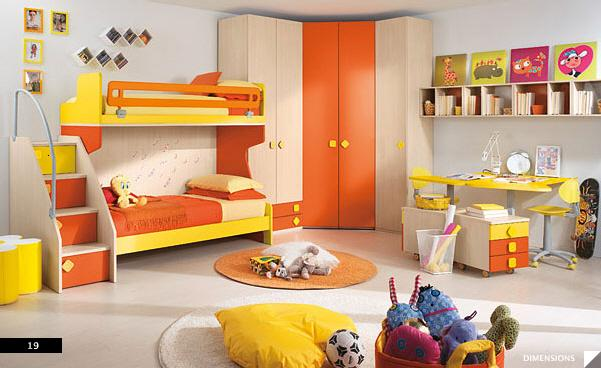 Paint Color Idea For Children Bedroom