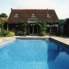 Rectangular Swimming Pool For Traditional House
