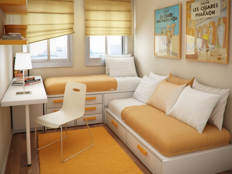 Simple And Small Bedroom Design Picture