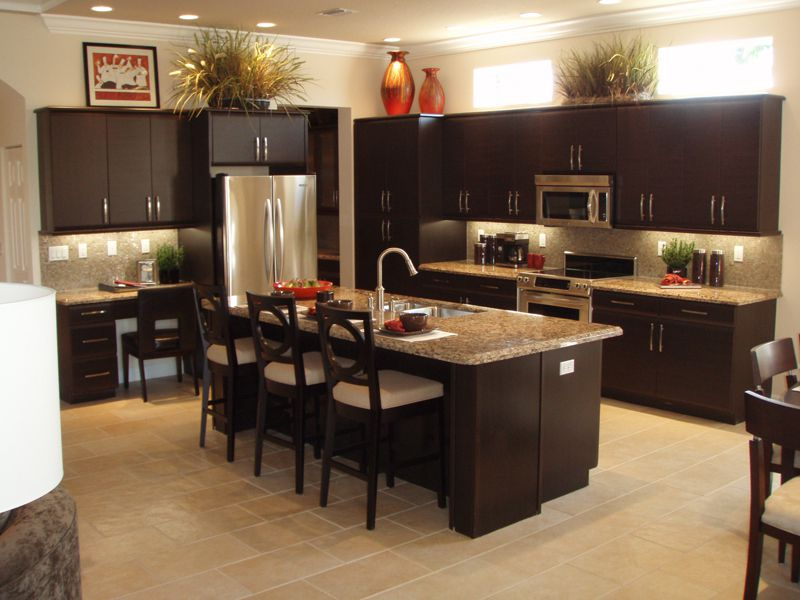 Simple Beautiful Kitchen Layout Idea Image