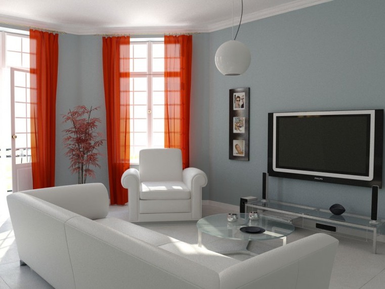 Simple Family Room Decoration Design Image