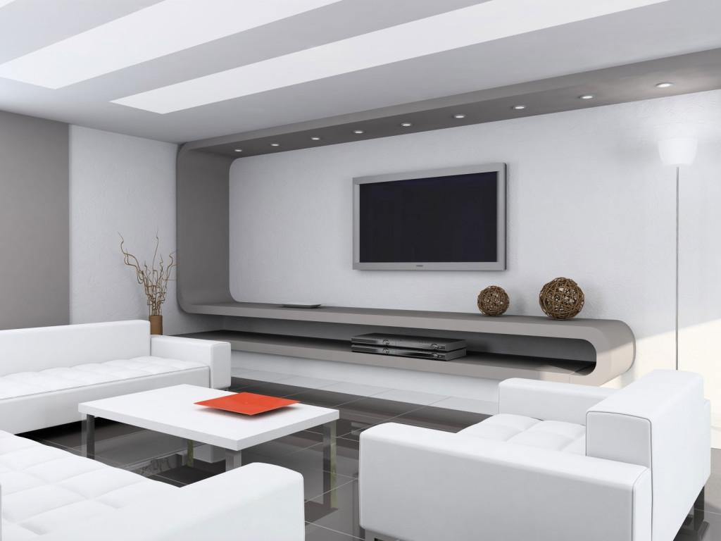 simple family room. Simple Luxury White Family Room Idea  4 Home Ideas