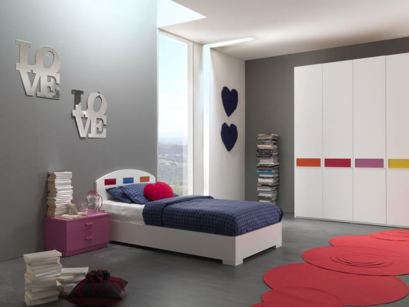 Simple Minimalist Bedroom Decoration Design Idea