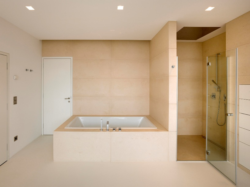 Simple Modern Minimalist Bathroom Design Picture