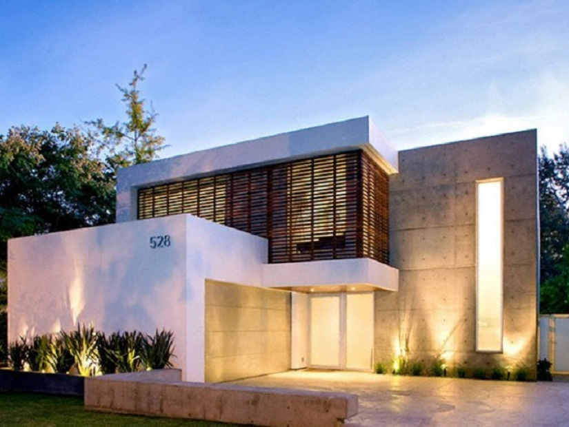 Tips To Beautify Modern Minimalist Facade 4 Home Ideas