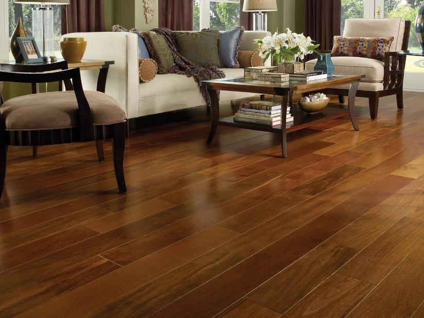 Simple Wood Floor Design For Living Room