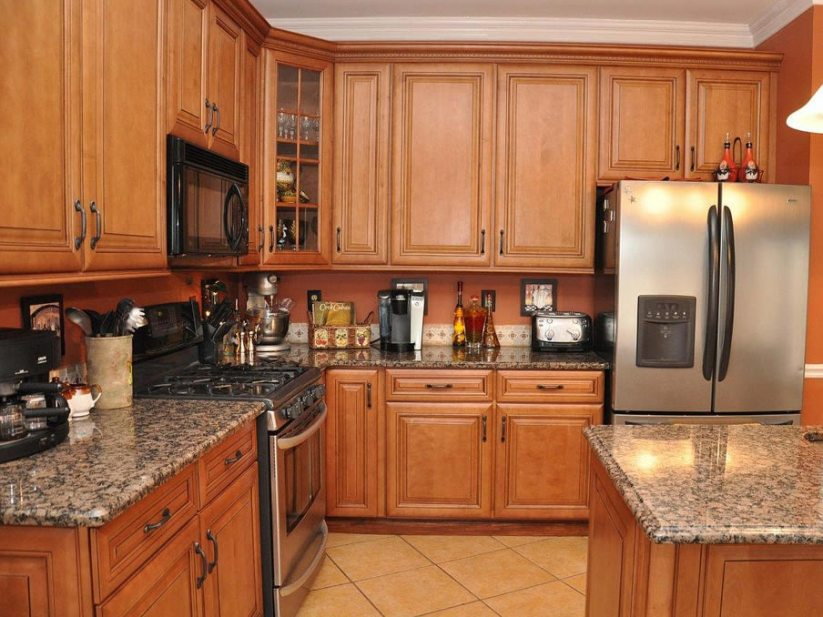 Simple Wooden Cabinet Idea For Kitchen