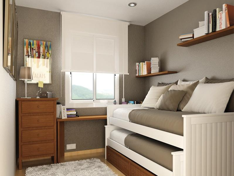 Small Bedroom Design With Natural Concept