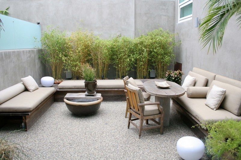 Awesome Minimalist Home Garden Layout Design