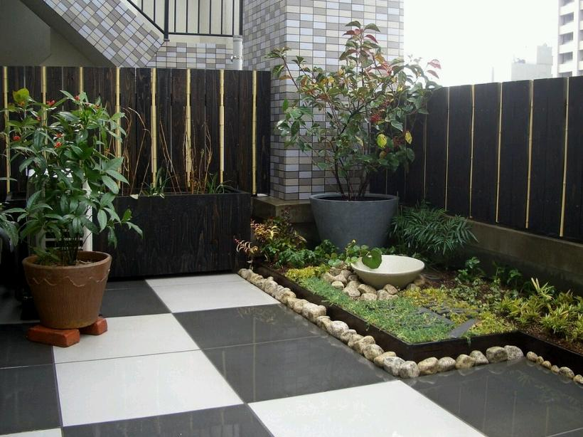Small Garden Idea In Minimalist Home