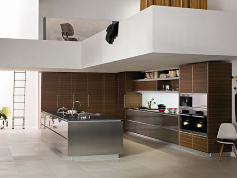 Splendid Modern Home Kitchen Design Photo
