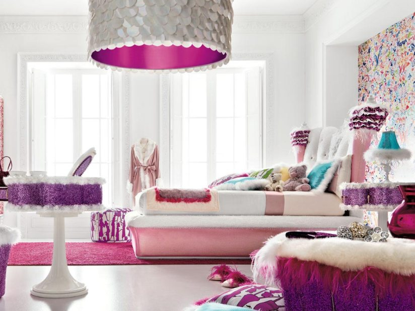 Teen Bedroom Decoration Furniture Design Idea