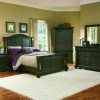 Traditional Black Furniture For Simple Bedroom