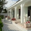 Traditional Wooden House Terrace Design Picture
