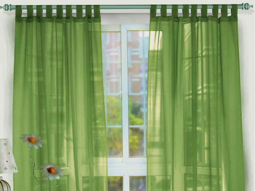 Delightful Nice Transparant Green Window Curtain Design Idea 4 Home Ideas Part 17