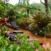 Tropical Garden Furniture Set Idea Photo