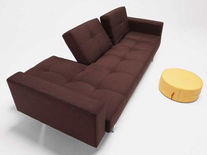 Unique Brown Color For Home Sofa Design