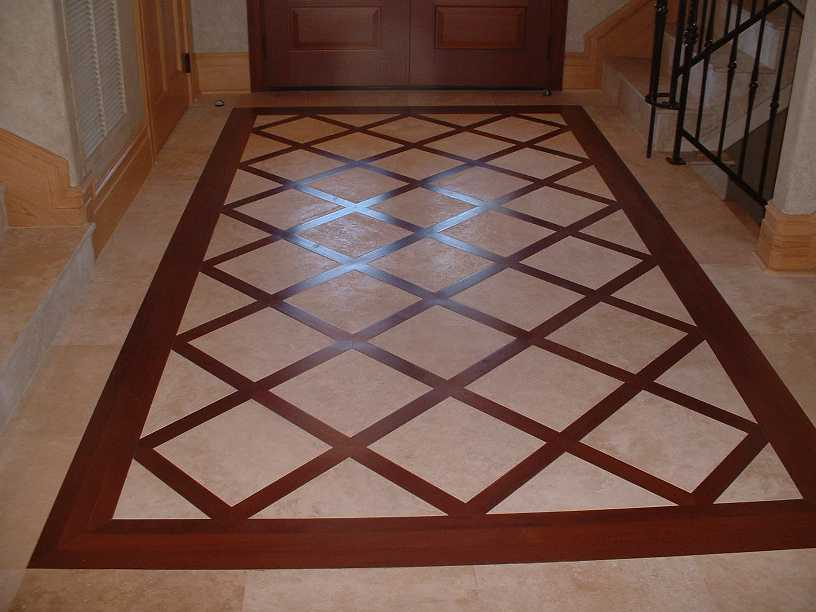 Unique Floor Pattern For Modern Home