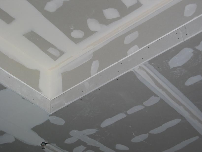 Unique Gypsum Ceiling Pattern Design Image