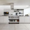 White Color Idea For Modern Kitchen