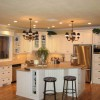 White Kitchen Design Idea For Modern House