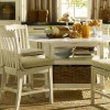 White Small Dining Room Design Picture