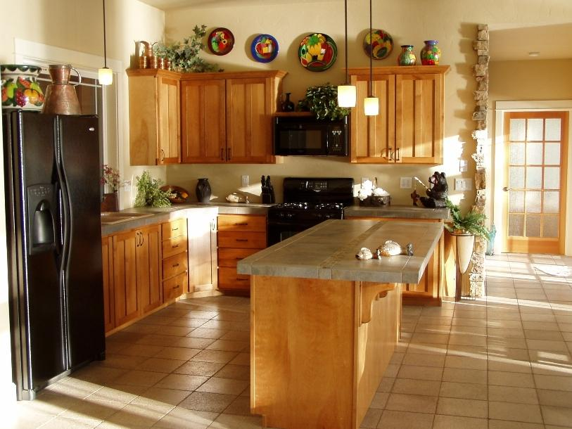 Wooden-Cabinet Design For Home Kitchen