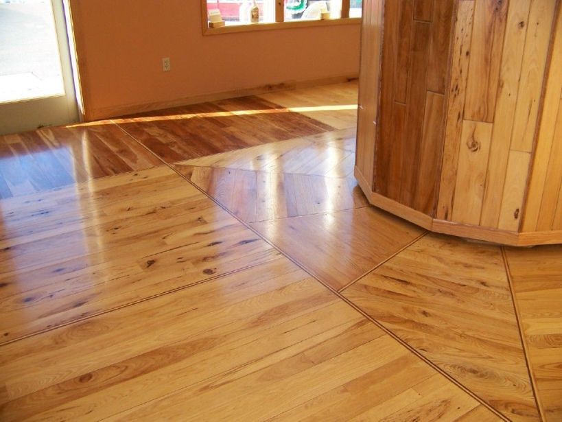 Wooden Floor Design For Wood House