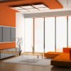 Affordable Orange Paint For Living Room