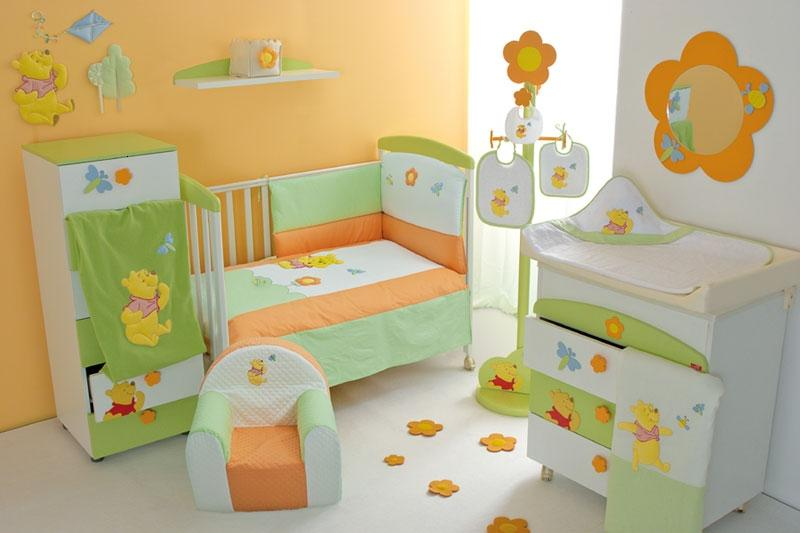 Baby Bedroom Interior Decor Idea Photo