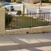 Beautiful Home Iron Fence Decor Idea