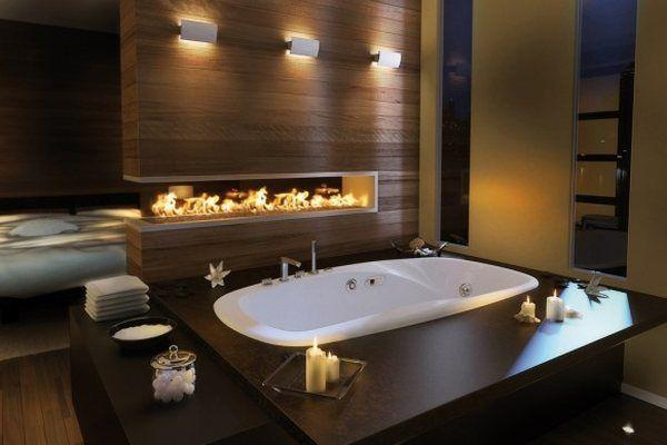 Calming Interior Design For Home Bathroom