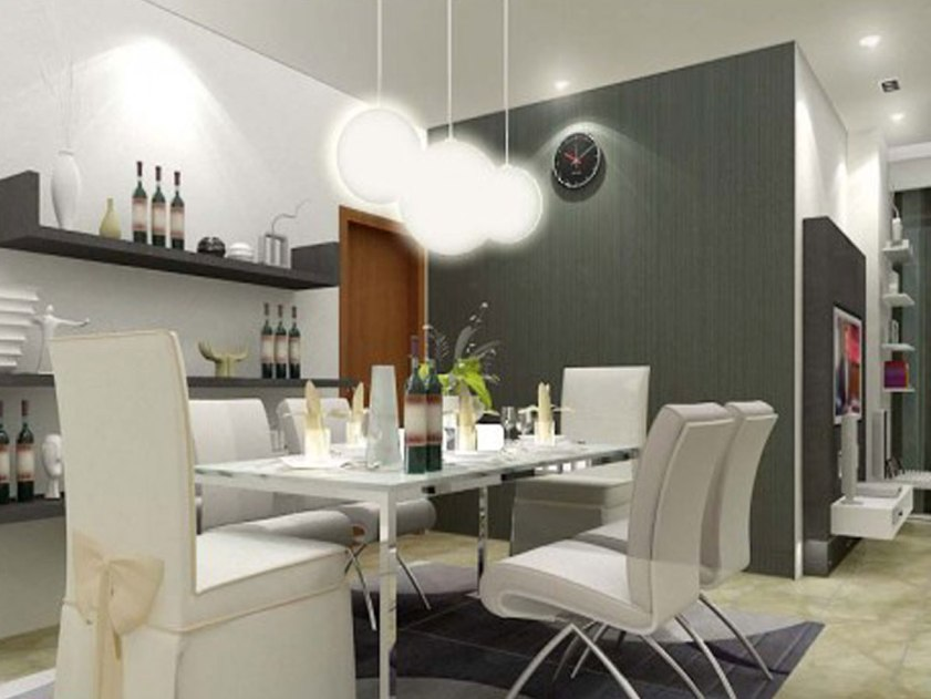 Charming Design Idea For Simple Dining Room