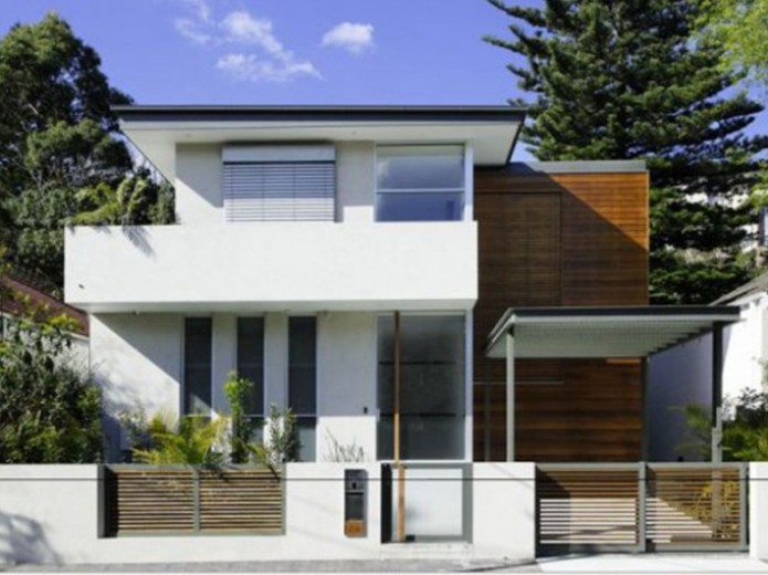 Charming Minimalist Home Fence Design Collection