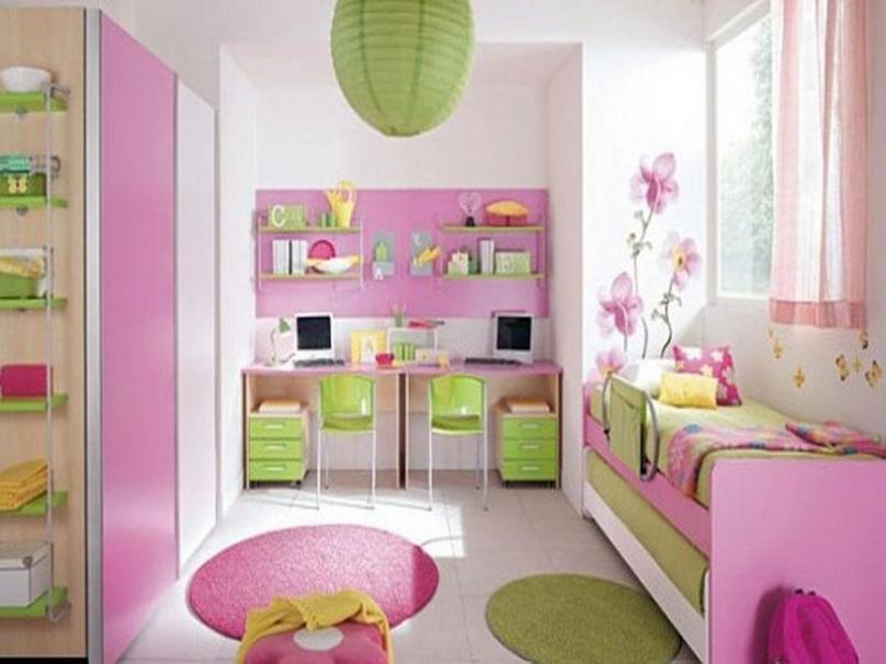 Wall Colour Inspiration: Charming Pink Bedroom Interior Paint Inspiration