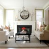 Clean White Living Room Interior Design