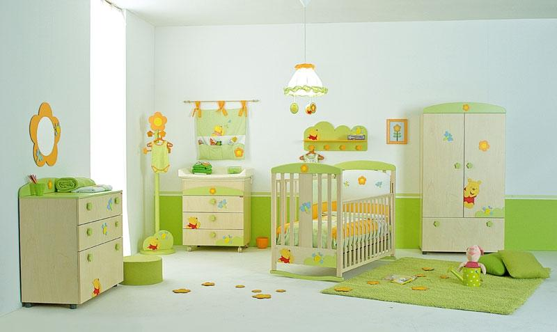 Colorful Baby Bedroom Interior Decor Idea