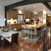 Contemporary Kitchen And Dining Room Image