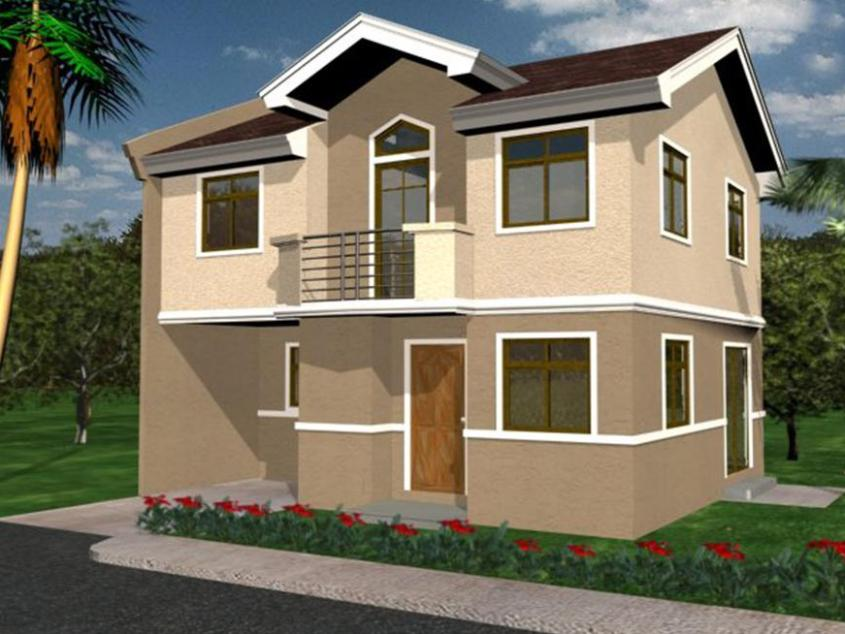 Cool Simpel 2 Floor Home Exterior