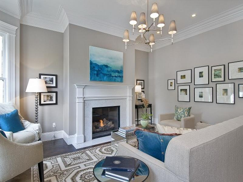 popular living room paint colors.  Elegant Modern Gray Living Room Paint Popular Color Idea 4 Home Ideas