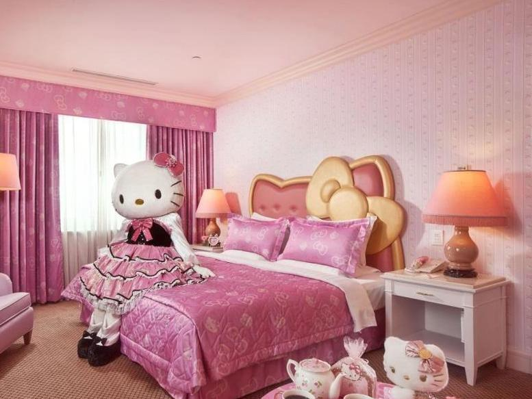 Hello Kitty Home Bedroom Decor Idea
