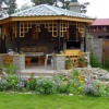 Home Garden Design With Gazebo Photo