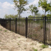 Long Home Iron Fence Design Image