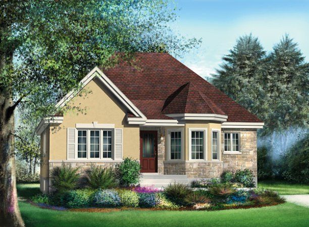 Lovely Minimalist Home Exterior Design Model