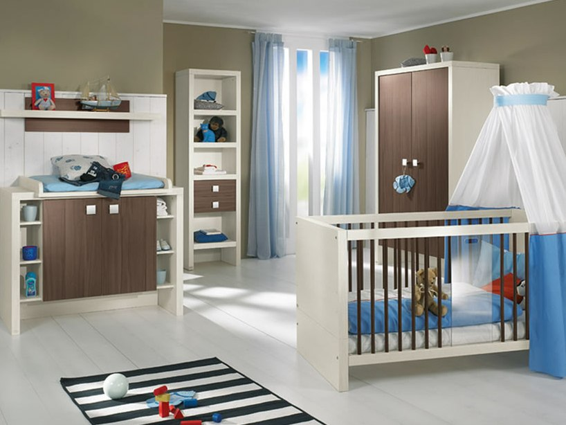 Minimalist Cute Home Baby Bedroom Design