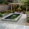 Modern Home Fish Pond Idea Picture